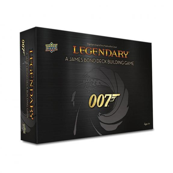 Legendary® 007™: A James Bond Deck Building Game - Upper Deck