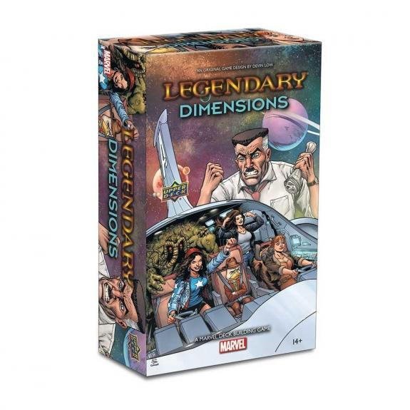 Legendary®: A Marvel Deck Building Game: Dimensions - Upper Deck