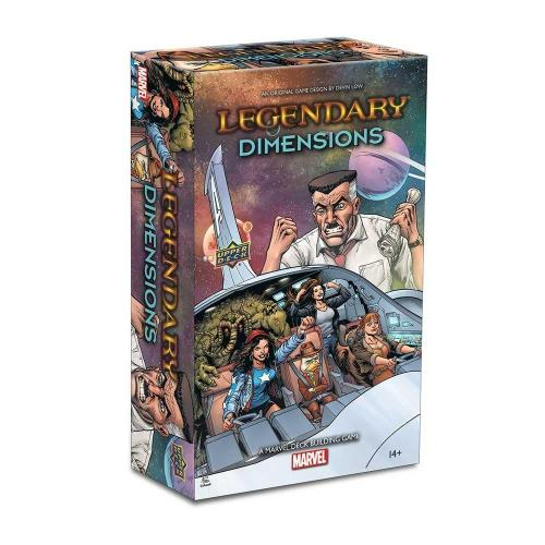 Legendary®: A Marvel Deck Building Game: Dimensions - Upper Deck