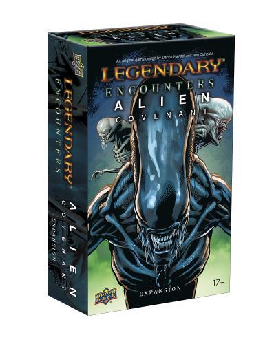 Legendary® Encounters: Alien Covenant: An Alien Deck Building Game Expansion - Upper Deck