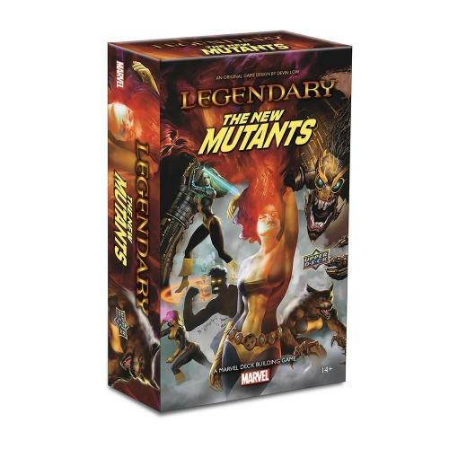 Legendary® The New Mutants: A Marvel Deck Building Game Expansion - Upper Deck