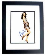 Leighton Meester - Signed - Autographed Gossip Girl 8x10 inch Photo BLACK CUSTOM FRAME - Guaranteed to pass PSA or JSA