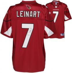 Arizona Cardinals Matt Leinart Signed Reebok Premier Jersey