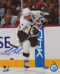 Mario Lemieux Pittsburgh Penguins Autographed 8'' x 10'' Photo-Limited Edition of 66 - Mounted Memories