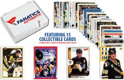 Mario Lemieux Pittsburgh Penguins-Collectible Lot of 15 NHL Trading Cards - Mounted Memories