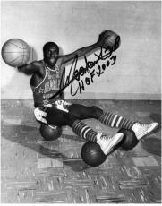 "Harlem Globetrotters Meadowlark Lemon Autographed 8"" x 10"" Photo with HOF 2003 Inscription"