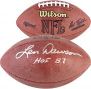 Len Dawson Hall of Fame Autographed Football