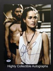 Lena Headey Signed 11x14 Photo Autograph Psa Dna Coa Game Of Thrones 300