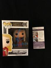 Lena Headey Signed & Inscribed Queen Mother Game Of Thrones Funko Pop Figure Jsa