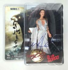 LENA HEADY 300 Autographed Signed Action Figure Certified Authentic PSA/DNA