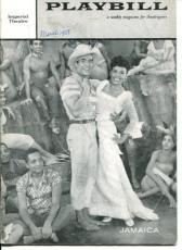 Lena Horne Ricardo Montalban Adelaide Hall Ossie Davis Jamaica 1958 Playbill
