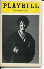 Lena Horne The Lady And Her Music 1981 Opening Night Playbill