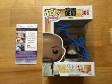 Lennie James Signed The Walking Dead Pop Funko Morgan JSA Coa