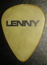 Lenny Kravitz Music Legend 2002 Concert Tour Guitar Pick Rare Authentic