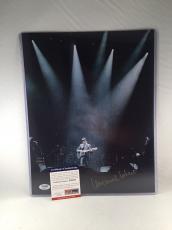 LEONARD COHEN SIGNED 11x14 PHOTO PSA DNA 2 MUSIC LEGEND SINGER SONGWRITER