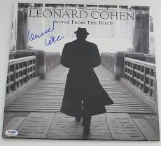 LEONARD COHEN Signed Autographed SONGS FROM THE ROAD ALBUM LP PSA DNA