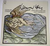 LEONARD COHEN Signed NEW SKIN For The Old Ceremony ALBUM LP w/ PSA DNA