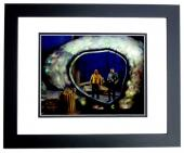 Leonard Nimoy and William Shatner Signed - Autographed STAR TREK 8x10 inch Photo - BLACK CUSTOM FRAME - Guaranteed to pass PSA or JSA - Mr. Spock and Captain Kirk