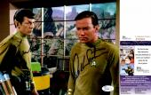 Leonard Nimoy and William Shatner Signed - Autographed STAR TREK 8x10 inch Photo - Guaranteed to pass PSA or JSA - Mr. Spock and Captain Kirk - JSA Certificate of Authenticity