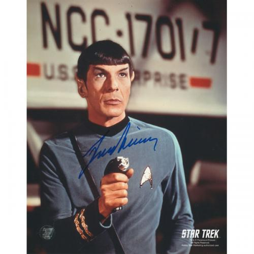 Leonard Nimoy (deceased) Autographed Star Trek 8X10 Photo