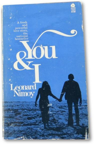 Leonard Nimoy Signed Autographed Softcover Book You & I Star Trek JSA II25582