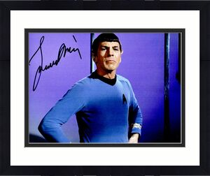 Leonard Nimoy Signed - Autographed Star Trek - Mr. Spock 8x10 inch Photo - Deceased 2015 - Guaranteed to pass BAS