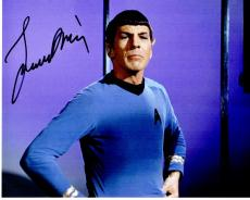 Leonard Nimoy Signed - Autographed Star Trek - Mr. Spock 8x10 inch Photo - Deceased 2015 - Guaranteed to pass PSA or JSA