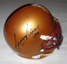 Leonard Nimoy Signed Boston College Eagles Mini Helmet Autograph Psa/dna Coa