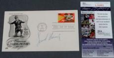 Leonard Nimoy Signed FDC First Day Issue Cachet Envelope JSA COA Star Trek