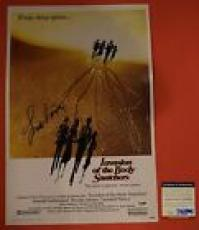 Leonard Nimoy Signed Invasion of the Body Snatchers 12x18 Movie Poster PSA/DNA