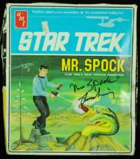 Leonard Nimoy Signed Star Trek Mr. Spock Model Kit (1968) (PSA/DNA)