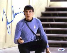 Leonard Nimoy Star Trek Autographed Signed 8x10 Photo Authentic PSA/DNA COA