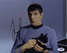Leonard Nimoy Star Trek Autographed Signed 8x10 Photo Certified PSA/DNA COA