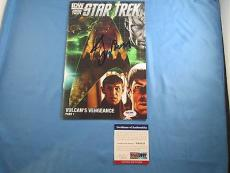 Leonard Nimoy Star Trek Signed Comic Book Cover PSA DNA COA Autograph Spock
