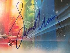 Leonard Nimoy Star Trek Signed LP Vinyl Album Cover PSA DNA COA Autograph Spock