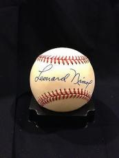 Leonard Nimoy Star Trek Signed Official American League Baseball Auto