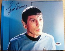 Leonard Nimoy Star Trek Spock signed 8x10 photo PSA/DNA autograph