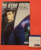 Leonard Nimoy Star Trek Spock Signed Autographed Comic Book PSA/DNA COA