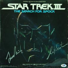 Leonard Nimoy & William Shatner Signed Star Trek Album (PSA/DNA)