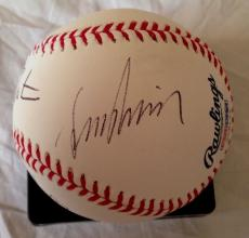 LEONARD NIMOY WILLIAM SHATNER WALTER KOENIG Signed Baseball STAR TREK PSA/DNA