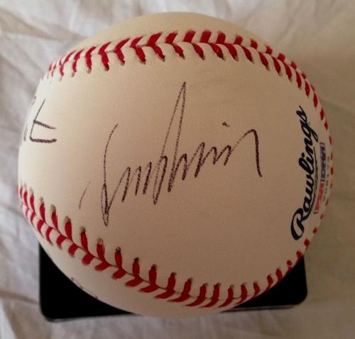 LEONARD NIMOY WILLIAM SHATNER WALTER KOENIG Signed Baseball STAR TREK PSA/DNA