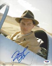 Leonardo DiCaprio Signed The Aviator 8x10 Photo PSA DNA COA