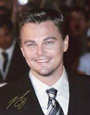 Leonardo Di Caprio Autographed 8x10 Photo