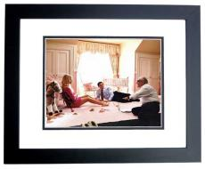 Leonardo DiCaprio and Margot Robbie Signed - Autographed The Wolf of Wall Street 11x14 inch Photo MAHOGANY CUSTOM FRAME - Guaranteed to pass PSA or JSA