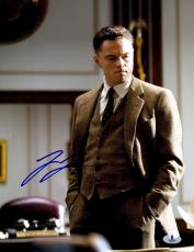 "Leonardo DiCaprio Autographed 11"" x 14"" J. Edgar Hands In Pocket Photograph - Beckett COA"