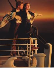 Leonardo Dicaprio Autographed 8x10 TITANIC Photo