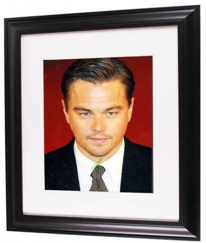 Leonardo Dicaprio Autographed Signed Suited 11x14 Photo AFTAL