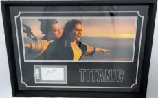 Leonardo DiCaprio Autographed Slabbed Cut Frame 29x20 PSA/DNA Authentic 83376897