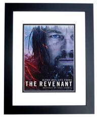 Leonardo DiCaprio Signed - Autographed The Revenant 11x14 inch Photo BLACK CUSTOM FRAME - Guaranteed to pass PSA or JSA - Best Actor Academy Award Winner