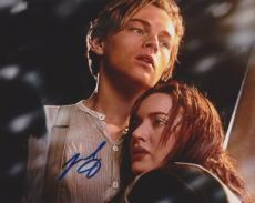 Leonardo Dicaprio Autographed TITANIC 8x10 Photo